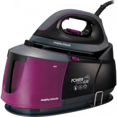 Save £39 at AO on Morphy Richards Power Steam Elite With AutoClean 332012 Pressurised Steam Generator Iron - Black