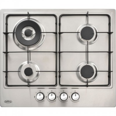 Save £20 at AO on Belling BEL GHU602GC 60cm Gas Hob - Stainless Steel