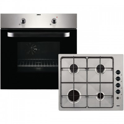 Save £39 at AO on Zanussi ZPGF4030X Built In Electric Single Oven and Gas Hob Pack - Stainless Steel - A Rated