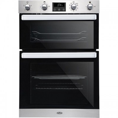 Save £138 at AO on Belling BI902MFCT Built In Double Oven - Stainless Steel - A/A Rated