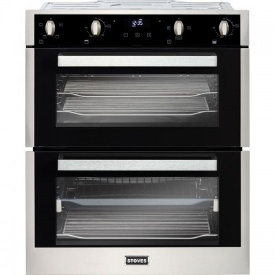 Save £155 at AO on Stoves ST BI702MFCT Built Under Double Oven - Stainless Steel - A/A Rated