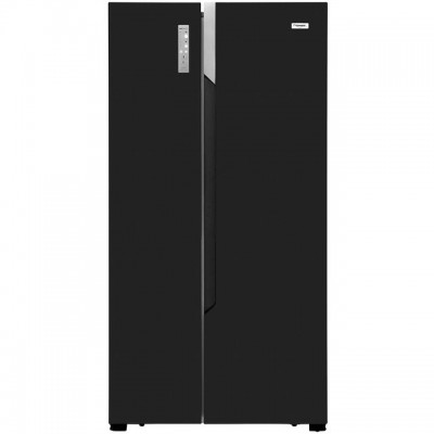 Save £50 at AO on Fridgemaster MS91518FFB American Fridge Freezer - Black - A+ Rated