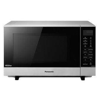 Save £24 at Sonic Direct on Panasonic NN SF464MBPQ Solo Flatbed Microwave Oven in Silver 27 Litre