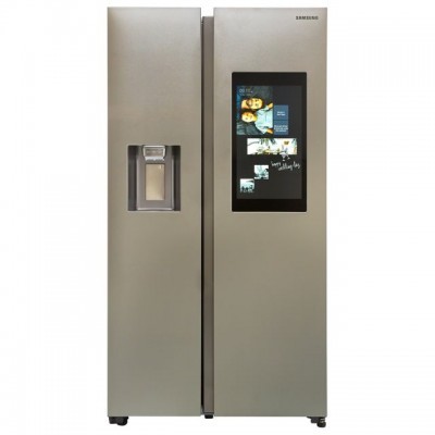 Save £524 at AO on Samsung Family Hub™ RS68N8941SL Wifi Connected American Fridge Freezer - Aluminium - A++ Rated