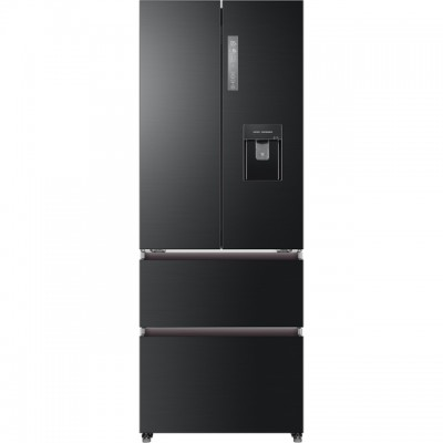 Save £99 at AO on Haier HB16WSNAA American Fridge Freezer - Black / Stainless Steel - A+ Rated