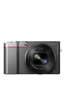 Save £80 at Very on Panasonic Dmc-Tz100Ebs Lumix 10X Digital Travel Camera - Silver
