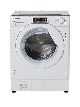 Save £50 at Very on Candy Cbwm816S 8Kg Load 1600 Spin Integrated Washing Machine - White - Washing Machine Only