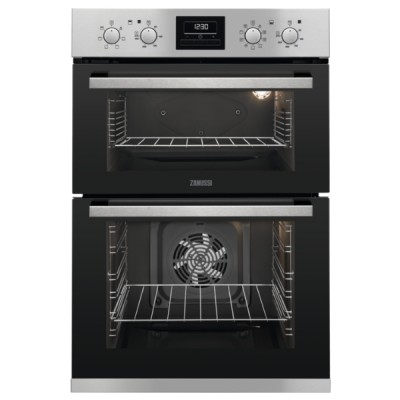 Save £70 at Appliance City on Zanussi ZOD35802XK Built In Multifunction Double Oven - STAINLESS STEEL