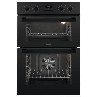 Save £50 at Appliance City on Zanussi ZOD35802BK Built In Multifunction Double Oven - BLACK