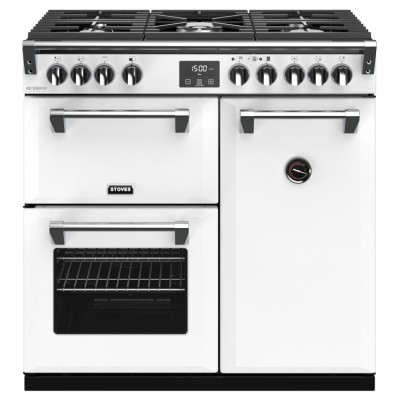 Save £400 at Appliance City on Stoves RICHMOND DX S900GCBIBR Richmond 900mm Gas Range Cooker - WHITE
