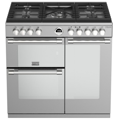 Save £470 at Appliance City on Stoves STERLING DX S900GSS 4936 Sterling Deluxe 90cm Gas Range Cooker - STAINLESS STEEL