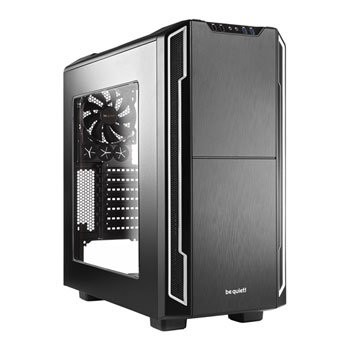 Save £21 at Scan on be quiet! Silent Base 600 Black/Silver Windowed PC Case
