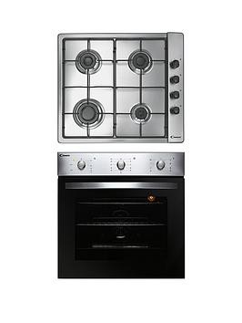 Save £50 at Very on Candy Coghp60X 60Cm Electric Single Oven  Gas Hob Pack - Oven And Hob Pack With Installation