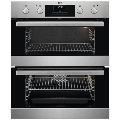 Save £130 at Appliance City on AEG DUB331110M Built Under Double Oven - STAINLESS STEEL