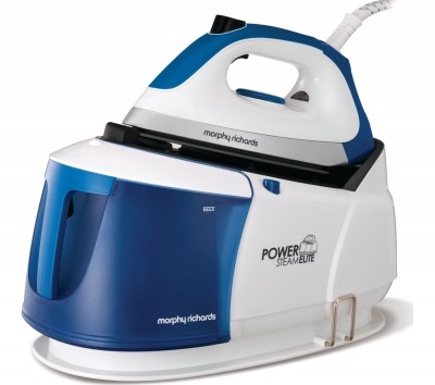 Save £60 at Currys on MORPHY RICHARDS Power Steam Elite 332010 Steam Generator Iron - White & Blue, White