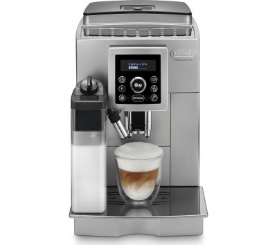 Save £200 at Currys on DELONGHI ECAM23.460 Bean to Cup Coffee Machine - Silver & Black, Silver