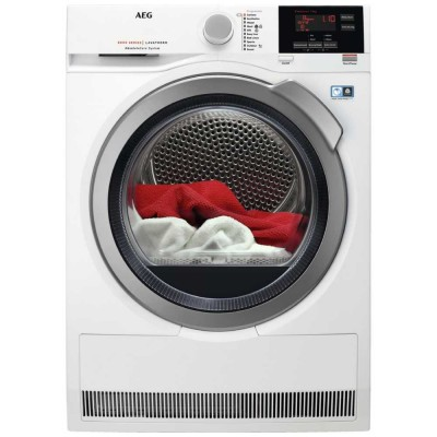 Save £110 at Appliance City on AEG T8DBG842R 8kg Heat Pump Condenser Tumble Dryer 8000 Series - WHITE
