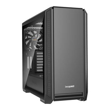 Save £26 at Scan on be quiet! SILENT BASE 601 Black Tempered Glass Midi PC Case