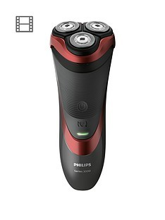 Save £11 at Very on Philips Series 3000 Wet & Dry Men's Electric Shaver with Pop-up Trimmer - S3580/06