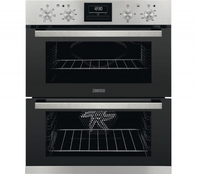 Save £81 at Currys on ZANUSSI ZOF35661XK Electric Double Oven - Stainless Steel, Stainless Steel