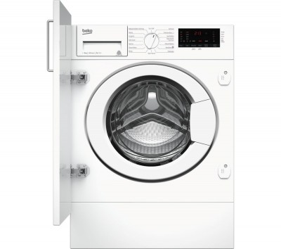 Save £80 at Currys on BEKO WIX845400 8 kg 1400 Spin Integrated Washing Machine