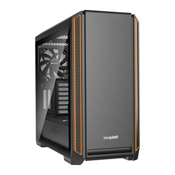 Save £21 at Scan on be quiet! SILENT BASE 601 Orange Tempered Glass Midi PC Case