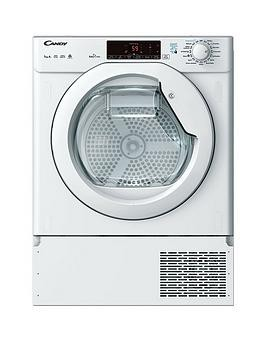 Save £80 at Very on Candy Cbtd H7A1Te 7Kg Load Integrated, Smart Touch Heat Pump Tumble Dryer - White - Dryer Only
