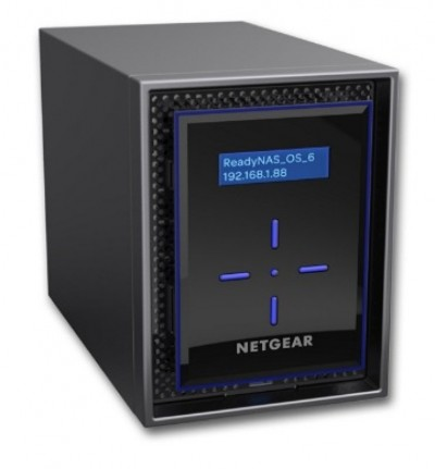Save £65 at Ebuyer on Netgear ReadyNAS 424 High-performance Business Data Storage DISKLESS
