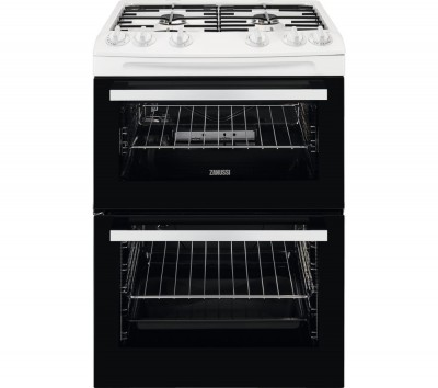 Save £138 at Currys on ZCG63050WA 60 cm Gas Cooker - White, White