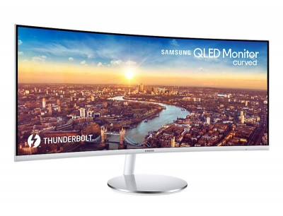 Save £155 at Ebuyer on Samsung 34 Wide ScreenThunderbolt 3 Curved Monitor