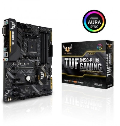 Save £10 at Ebuyer on Asus TUF B450-PLUS GAMING AM4 DDR4 ATX Motherboard