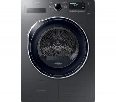 Save £100 at Currys on Samsung Tumble Dryer DV90M5000QW/EU 9 kg Heat Pump - Graphite, Graphite
