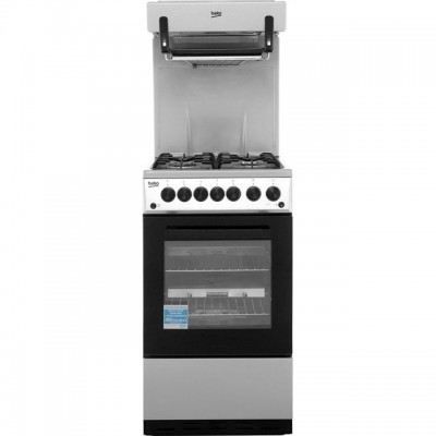 Save £60 at AO on Beko KA52NES 50cm Gas Cooker with Full Width Gas Grill - Silver - A Rated