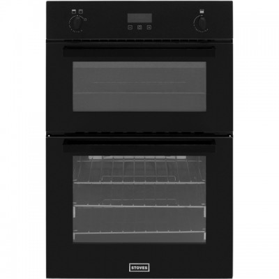 Save £60 at AO on Stoves BI900G Built In Double Oven - Black - A/A Rated