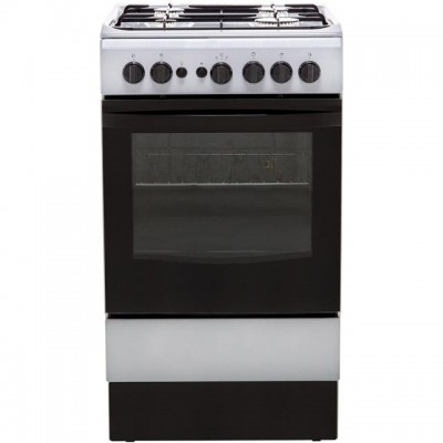 Save £81 at AO on Indesit Cloe IS5G1PMSS 50cm Gas Cooker - Silver - A Rated