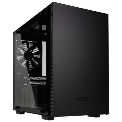 Save £18 at Ebuyer on NZXT H200i Black - Mini Tower Gaming PC Case