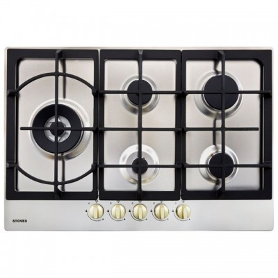 Save £70 at AO on Stoves GHU75C 75cm Gas Hob - Stainless Steel