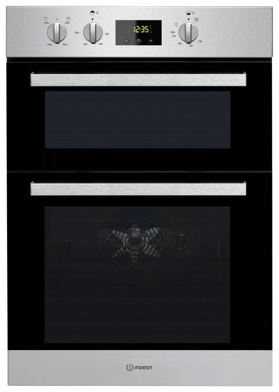 Save £100 at Argos on Indesit IDD6340IX Built in Double Electric Oven - S/Steel