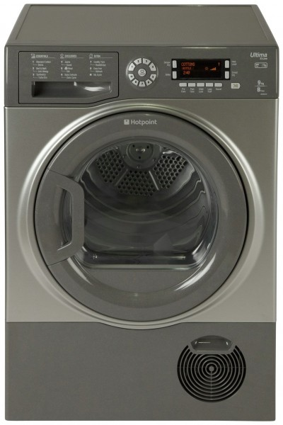 Save £100 at Argos on Hotpoint SUTCD97B6GM 9KG Condenser Tumble Dryer - Graphite