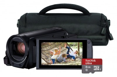 Save £30 at Argos on Canon Legria HF R806 Full HD Camcorder Bundle - Black