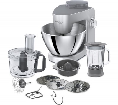 Save £121 at Currys on KENWOOD Multione KHH321SI Stand Mixer - Silver, Silver
