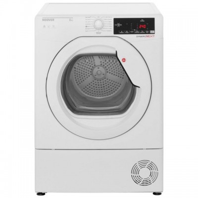 Save £40 at AO on Hoover Dynamic Next DXC8TG 8Kg Condenser Tumble Dryer - White - B Rated