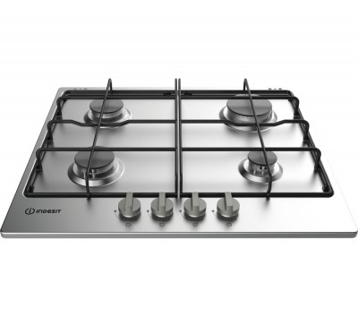 Save £20 at Currys on INDESIT THA642IX/I Gas Hob - Silver, Silver