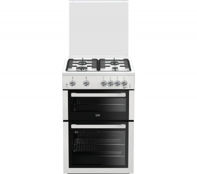 Save £61 at Currys on BEKO XTG611W 60 cm Gas Cooker - White, White