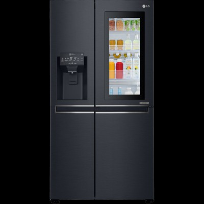 Save £250 at AO on LG InstaView™ Door-in-Door™ GSX961MCVZ Fridge Freezer - Matte Black - A++ Rated