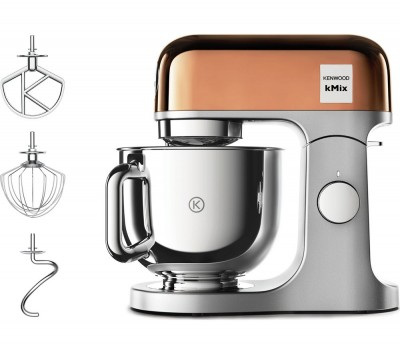 Save £100 at Currys on KENWOOD kMix KMX760.GD Kitchen Machine - Rose Gold, Gold
