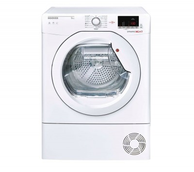 Save £30 at Currys on HOOVER Dynamic Next DX C9DE WiFi-enabled 9 kg Condenser Tumble Dryer - White, White