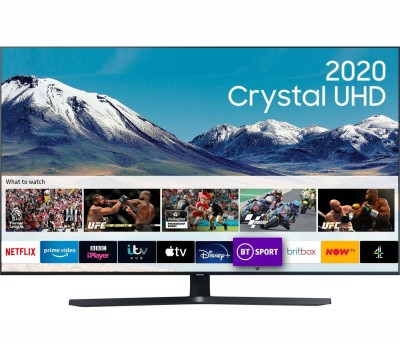 Save £150 at Currys on SAMSUNG UE43TU8500UXXU Smart 4K Ultra HD HDR LED TV with Bixby, Alexa & Google Assistant