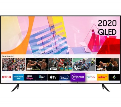 Save £200 at Currys on SAMSUNG QE43Q60TAUXXU Smart 4K Ultra HD HDR QLED TV with Bixby, Alexa & Google Assistant