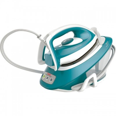 Save £104 at AO on Tefal Express Compact SV7111 Pressurised Steam Generator Iron - Blue / White